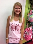 Monogram Comfort Color Tank