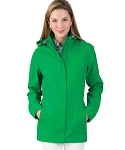 Women's Monogrammed Logan Jacket Kelly Green