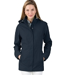 Women's Monogrammed Logan Jacket Graphite Navy