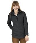 Women's Black Heather Hingham Tunic