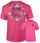 Southernology® Meant To Bee- Pink T-Shirt