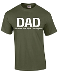 Dad. Man, Myth, Legend TShirt