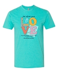Southernology® Do What You Love Teacher Statement Tee