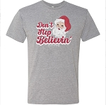 Southernology® Don't Stop Believin' Santa Statement Tee