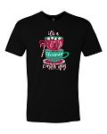 Southernology® Hot Cocoa and Christmas Movie Mug Statement Tee