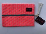Makeup Junkie Bags- Coral Crush