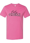 Southernology® Let's Cuddle Pink Statement Tee