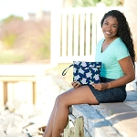 2020 Patterned Pouch Wristlet