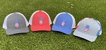 Patriotic Pineapple Hats