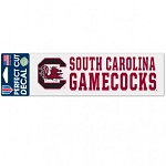 South Carolina Gamecocks 3x10 Decal
