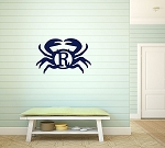 Crab Wooden Monogram