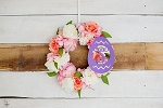18 Inch Egg Wooden Monogram
