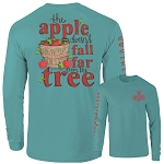Southernology® Apple Tree T Shirt Long Sleeve