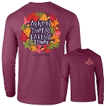 Southernology® Long Sleeve Autumn Leaves T Shirt