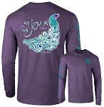 Ashton Brye™ BeYOUtiful Peacock Long Sleeve