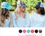 Monogram Trucker Hats
