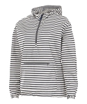 Gray and White Stripe Chatham Anorak