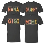 Southernology® Color Block Grandmother Statement Tee