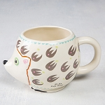 Natural Life Hedgehog Mug
