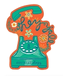 Southernology® Telephone Hey Y'all Decal