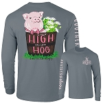 Southernology® High On The Hog T Shirt Long Sleeve