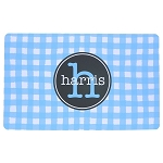 Blue Gingham Placemat