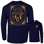 Because Of Grace® God Is Able Long Sleeve T-Shirt