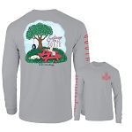 Southernology® Sundays in the South Long Sleeve T Shirt
