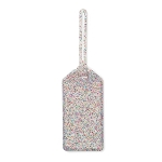 kate spade new york Multi Glitter Luggage Tag