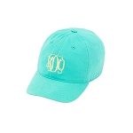 Kids Mint Monogram Ball Cap