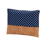 Charlie Dot Zip Pouch