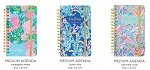 Medium 17-Month Spiral Lilly Pulitzer Agenda 2020
