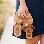 Brown Natalie Sandals