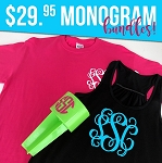 Summer Monogram Bundle