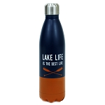 Lake Life Stainless Steel Water Bottle
