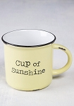 Natural Life Cup of Sunshine Camp Mug