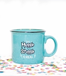 The Muggle Struggle Is Real Fleck Mug