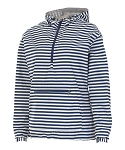 Navy and White Stripe Chatham Anorak