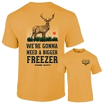 Rugged South® Bigger Freezer