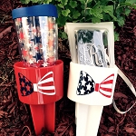 Patriotic Beach Spiker