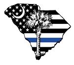 Florence Thin Blue Line Decal
