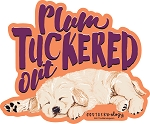 Southernology® Plum Tuckered Out Decal