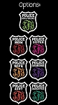 Police Family Monogram Decal