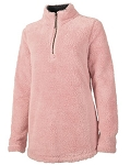 Powder Pink Newport Fleece Pullover
