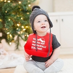 Christmas Wonder Bib