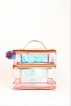 Clear Iridescent Lunchbox