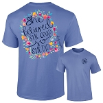 Ashton Brye™ She Believed She Could T Shirt