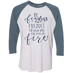 Be Fearless Raglan
