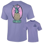 Southernology® Pineapple Violet Logo T Shirt