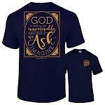 Because Of Grace® God Is Able Short Sleeve T-Shirt